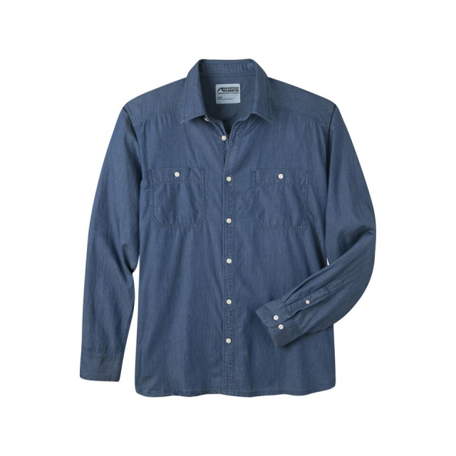 Mountain Khakis - Men's Ace Indigo Long Sleeve Shirt