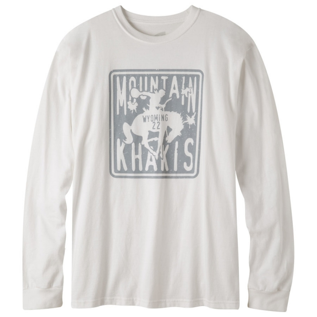Mountain Khakis - Wyoming 22 Long Sleeve T-Shirt