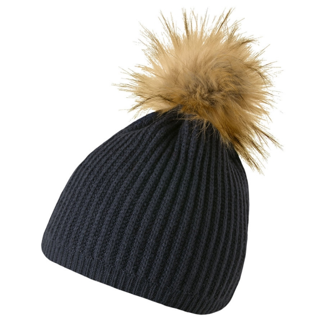 Mountain Khakis - Cable Fur Pom