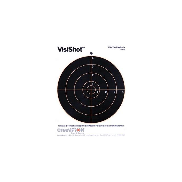 "Champion Traps & Targets - Visishot™ 8"" Bulls Targets"