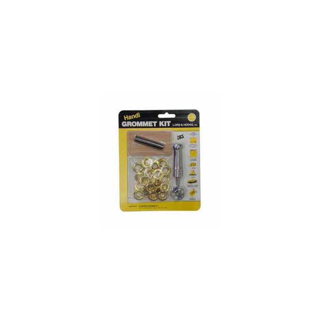 Lord & Hodge - Brass Grommet Kit Size 2 (3/8 in