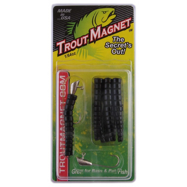 Leland's Lures - Trout Magnet 9 Piece Packs Black