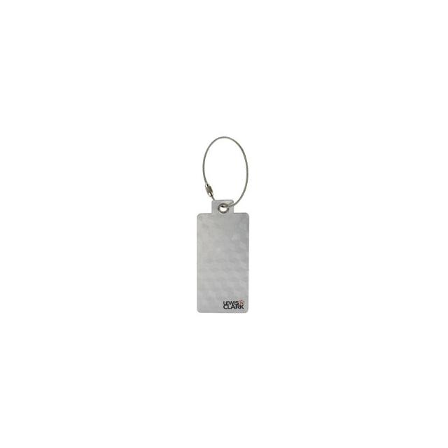 Lewis N Clark - Aluminum Luggage Tag - Aluminum