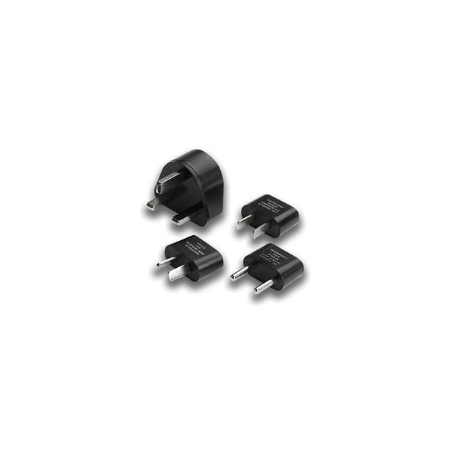 Lewis N Clark - Adapter Plug Kit - Black