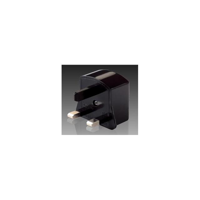 Lewis N Clark - 's Great Britain, Africa Adapter Plug - Black