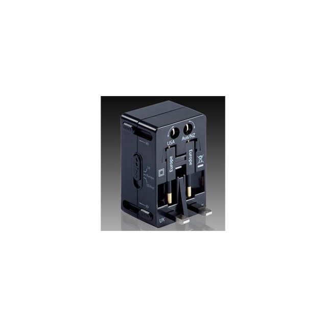 Lewis N Clark - 's 4-in-1-Adapter Plug - Black