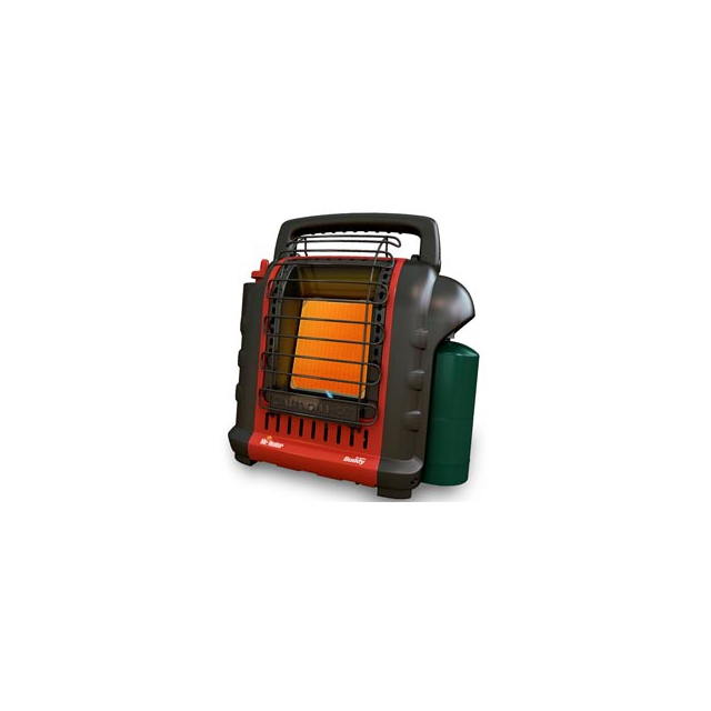 Mr. Heater - Portable Buddy Propane Heater - Black