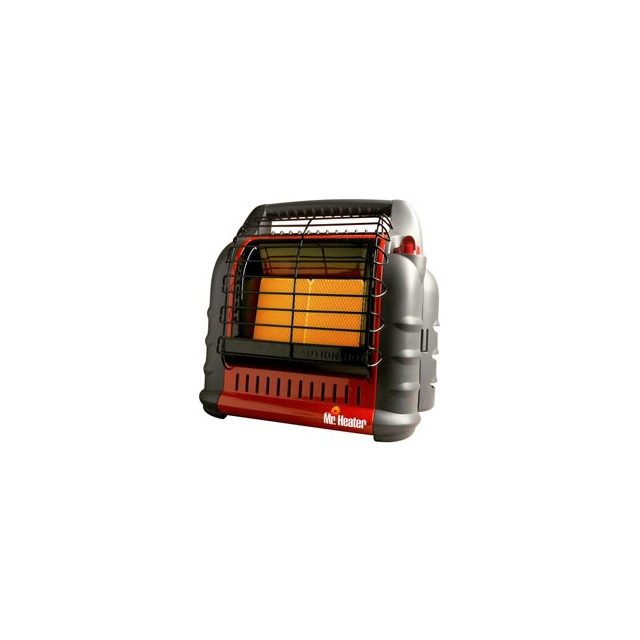 Mr. Heater - Portable Big Buddy Propane Heater - Black