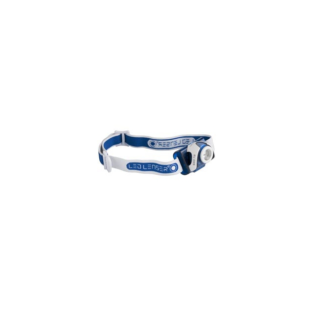 Led Lenser - SEO7R Rechargeable Headlamp - Blue