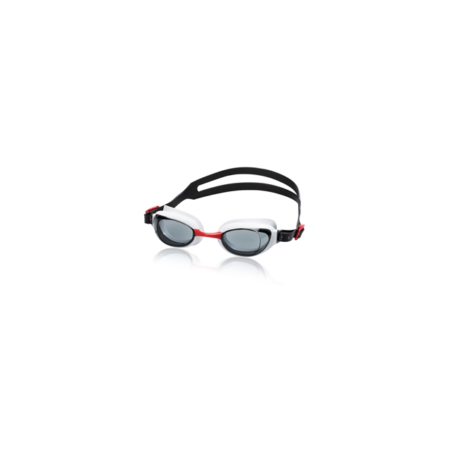 Speedo - Aquapure Fitness Goggle - Men's - Red/Smoke