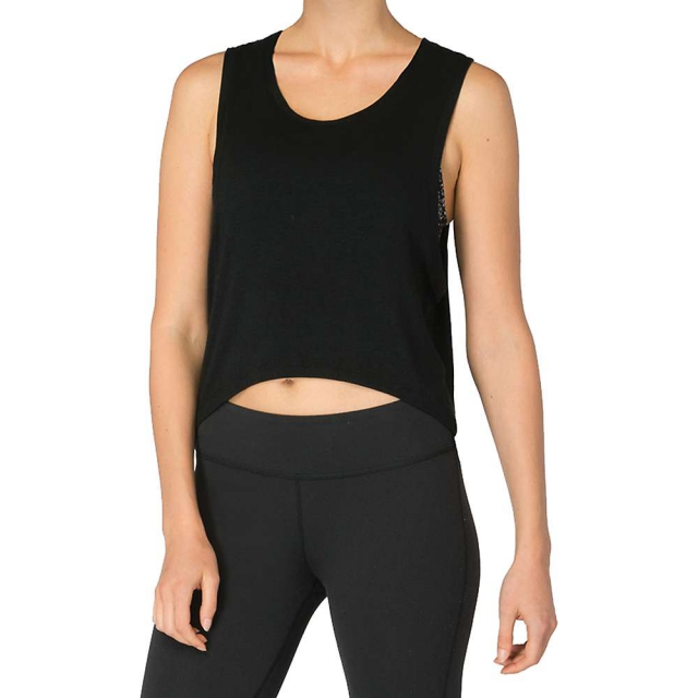 Beyond Yoga - Women's Slinky High - Low Muscle Tank
