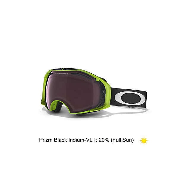 Oakley - Airbrake 80s Green Collection Goggles