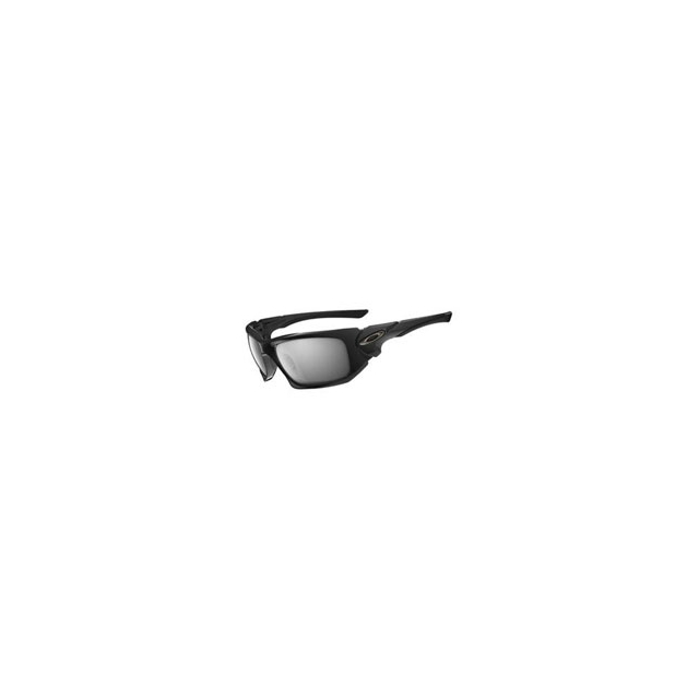 Oakley - Scalpel Sunglasses with Polarized Lenses - Polished Black/Grey