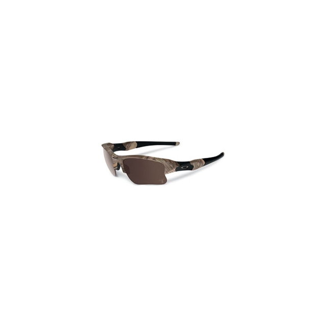 Oakley - King's Woodland Camo Flak Jacket Sunglasses - Warm Grey