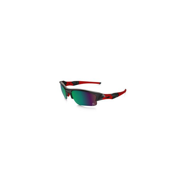 Oakley - KVD Flak Jacket XL Prizm H20 Shallow Polarized Sunglasses - Polished Black/Prizm Fresh Water Polarized