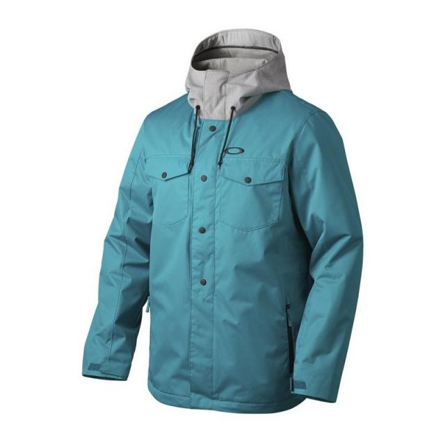 Oakley - BioZone Insulated Snowboard Jacket Men's, Jet Black, XL