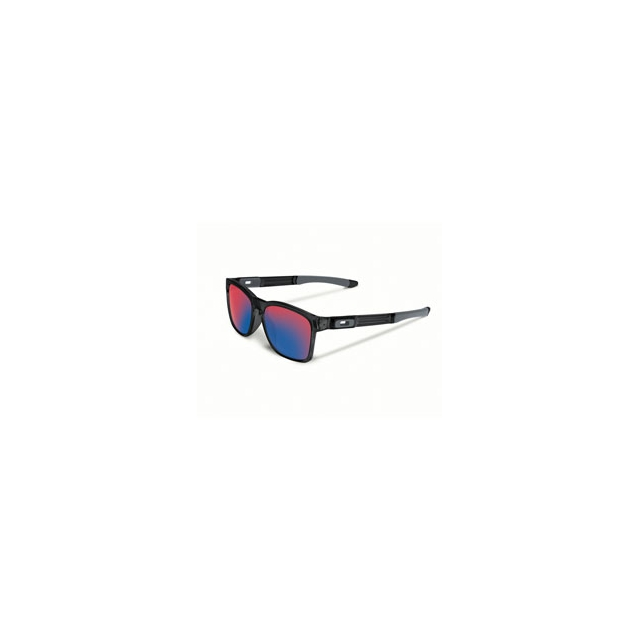 Oakley - Catalyst Iridium Sunglasses - Men's - Black Ink/Positive Red