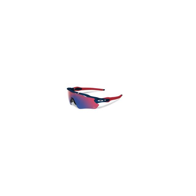 Oakley - Radar EV Path Team USA Iridium Sunglasses - Men's - Dark Blue/Red Iridium