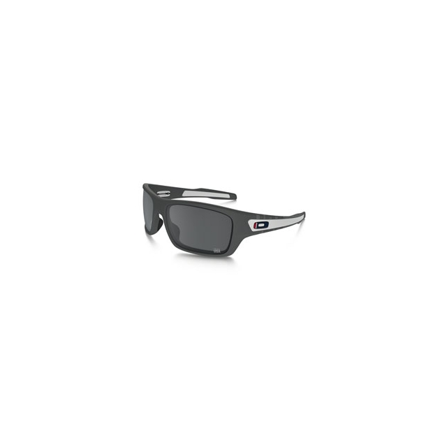 Oakley - Turbine Team USA Iridium Sunglasses - Men's - Matte Dark Grey/Black Iridium