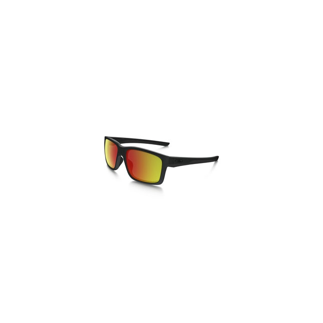 Oakley - Mainlink Iridium Polarized Sunglasses - Men's - Matte Black/Ruby