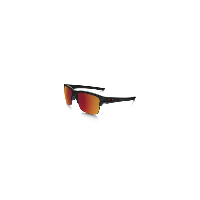 Oakley - Thinlink Iridium Polarized Sunglasses - Men's - Matte Black/Torch