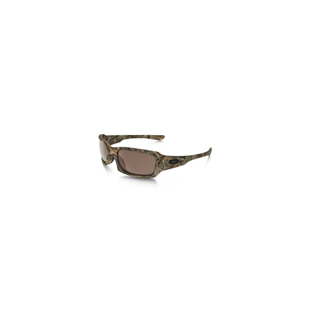 Oakley - Fives Squared King''s Camo Edition Sunglasses - Men's - Woodland Camo/Vr28 Black Iridium