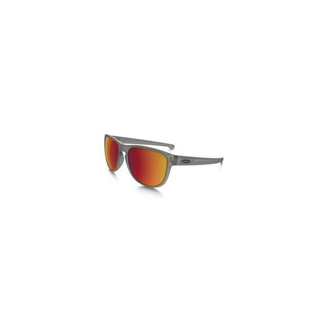 Oakley - Sliver R Iridium Polarized Sunglasses - Men's - Matte Grey Ink/Torch Iridium Polarized