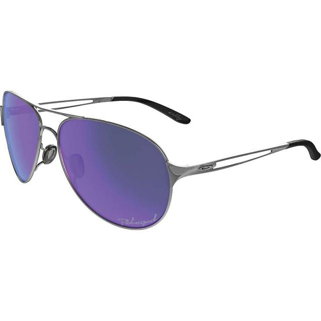 Oakley - Women's Caveat Violet Haze Collection Polarized Sunglasses