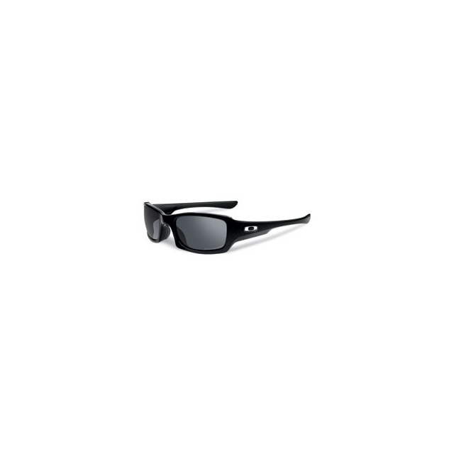 Oakley - Fives Squared Polarized Sunglasses - Polished Black/Black Iridium Polarized