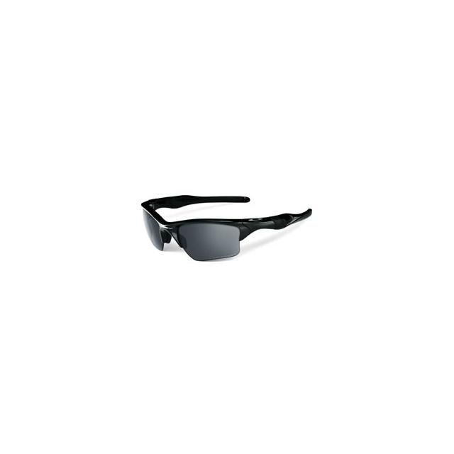 Oakley - Half Jacket 2.0 with Iridium Lens - Polished Black/Black