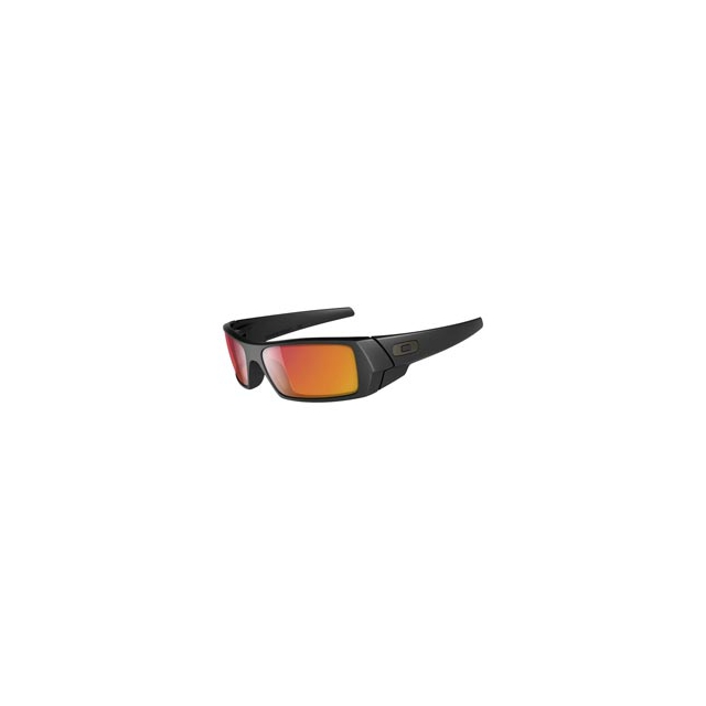 Oakley - Gascan Sunglasses - Matte Black/Ruby Iridium
