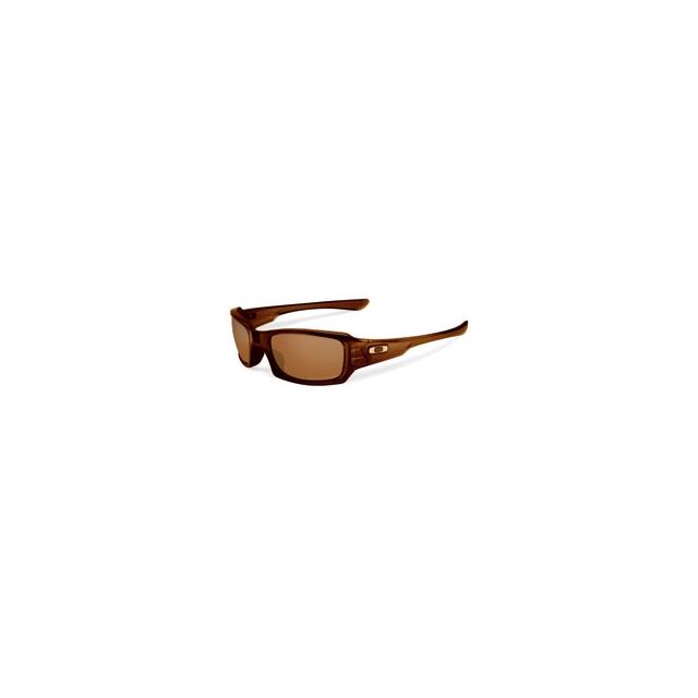 Oakley - Fives Squared Polarized (Non-Iridium) Sunglasses - Polished Root Beer/Bronze Polarized