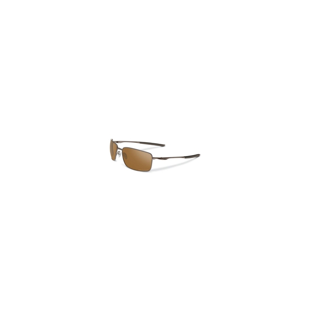 Oakley - Square Wire Polarized Iridium Sunglasses - Men's - Tungsten/Tungsten Iridium Polarized