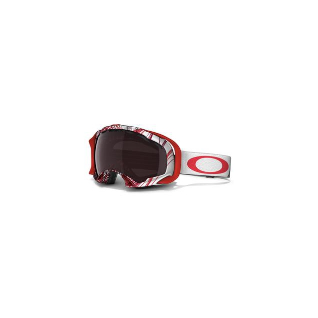 Oakley - Splice Goggles Adults', Topography Red/Black