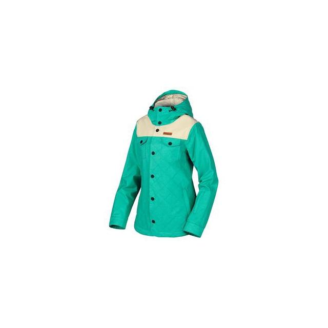 Oakley - Spotlight BioZone Insulated Snowboard Jacket Women's, Peacock, L