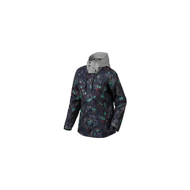 Oakley - Charlie 2 BioZone Insulated Snowboard Jacket Women's, Navy Floral, M