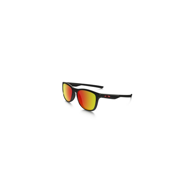 Oakley - Trillbe X Iridium Sunglasses - Men's - Polished Black/Ruby Iridium