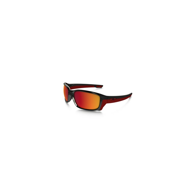 Oakley - Straightlink Iridium Polarized Sunglasses - Men's - Polished Black/Torch Iridium Polarized