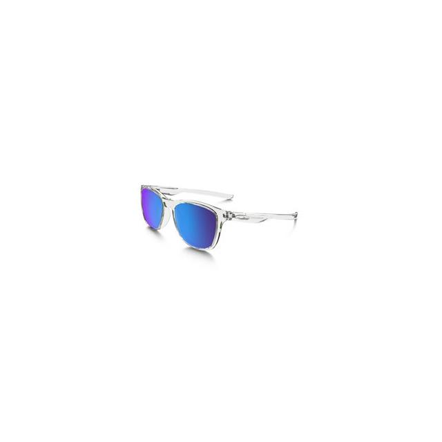 Oakley - Trillbe X Iridium Polarized Sunglasses - Men's - Polished Crystal Clear/Sapphire Iridium Polarized