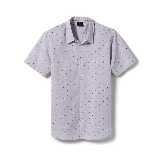 Oakley - Men's Skull SS Woven Shirt