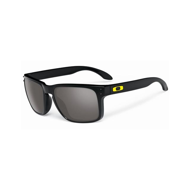 Oakley - Holbrook Sunglasses - Valentino Rossi Signature Series - Polished Black, Warm Grey
