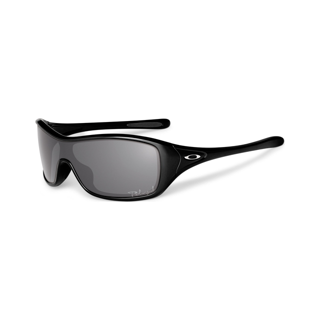 Oakley - Ideal Sunglasses - Polished Black Frame, Grey Polarized Lens