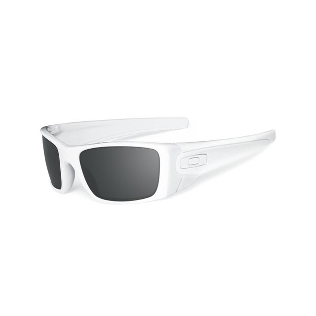 Oakley - Fuel Cell Sunglasses - Polished White Frame, Black Iridium Lens