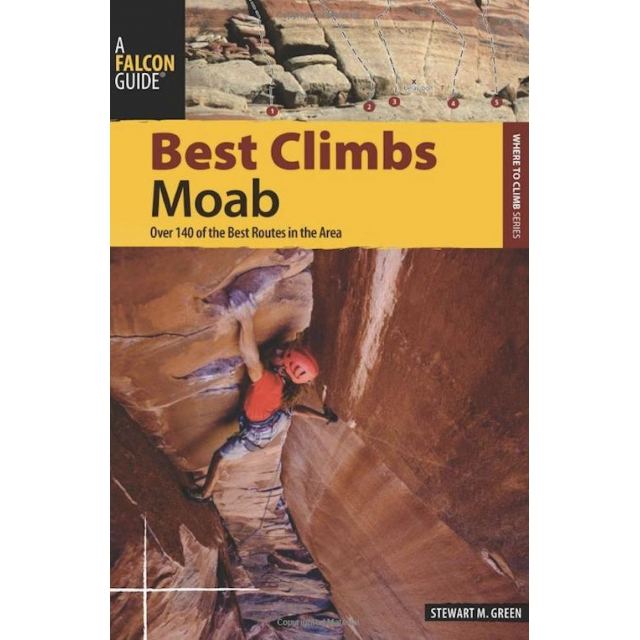 National Book Network - Best Climbs Moab Green