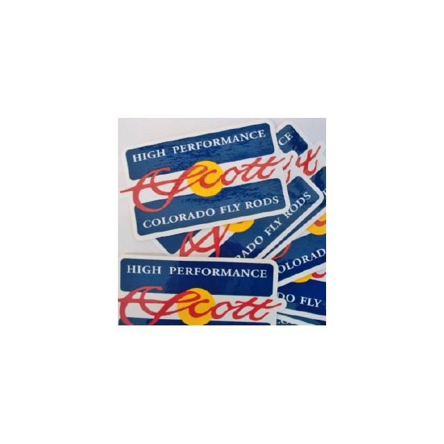 Scott Fly Rod - Colorado Flag Sticker
