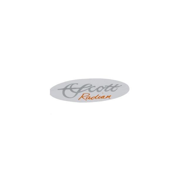 Scott Fly Rod - Radian Oval Decal