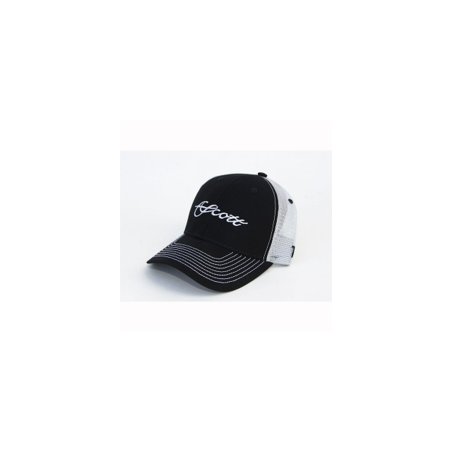 Scott Fly Rod - Black/Gray Mesh Trucker Hat