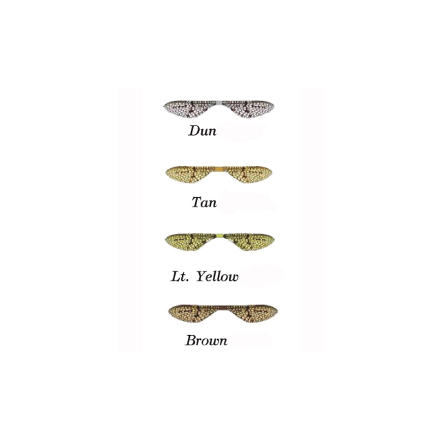 Montana Fly Co - Lazer Wing - Mayfly - 12 Pack