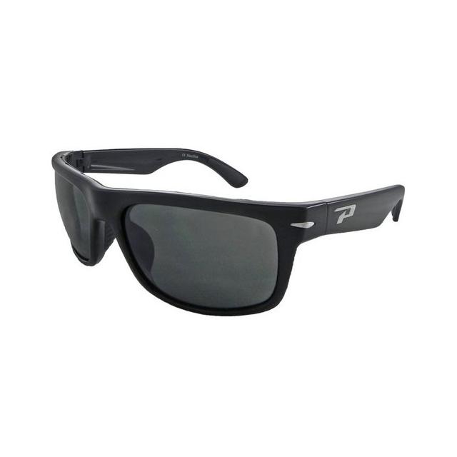 Pepper's Sport Optics - Stockton Shiny Black Sunglasses