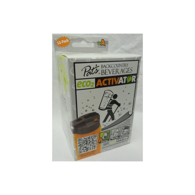 Pat's Backcountry Beverages - 12 Pack ECO2 Activator Pouches
